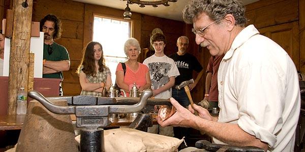 Master silversmith class